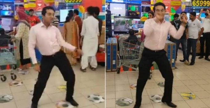 Video: Pakistani guy takes Internet by storm with his killer dance moves