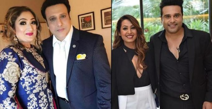 Krushna hassled by unreasonable couple: Kashmera lashes out at Govinda, wife