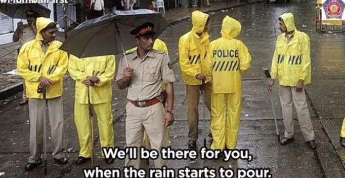 Mumbai police assure support during heavy rains with F.R.I.E.N.D.S. theme song
