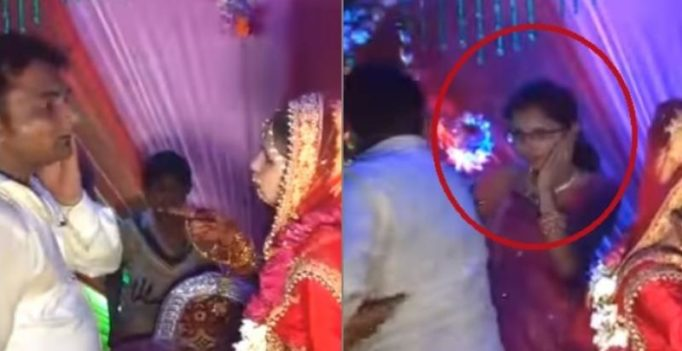 No one is talking about the woman that got slapped in the 'savage bride' video
