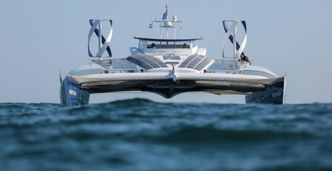 World's first hydrogen-run boat on global trip across all oceans