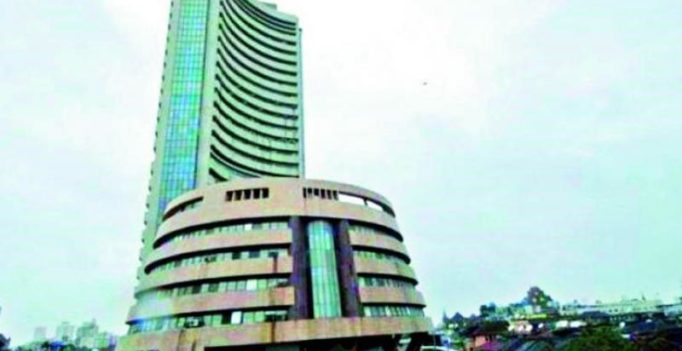 Sensex drops 217 points on sell-off in banking, pharma stocks