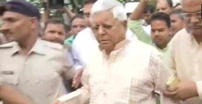 Lalu Yadav surrenders after HC refuses to extend his provisional bail