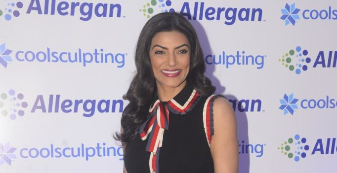Sushmita Sen creates awareness about body contouring in India