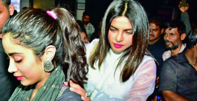 Priyanka Chopra and Janhvi Kapoor have dinner, talk shop