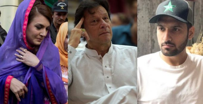Reham Khan, after slamming Imran Khan, has a Twitter fight with Zaid Ali; here's why