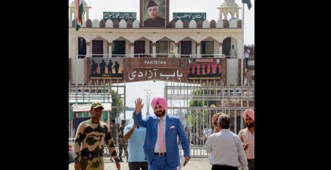 In Pak for Imran Khan oath taking, Navjot Singh Sidhu invokes Atal Bihari Vajpayee