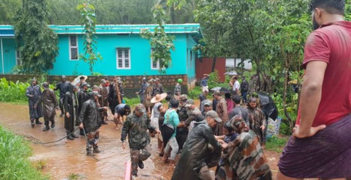 Kerala floods: 72 dead, PM asks defence to step up rescue ops