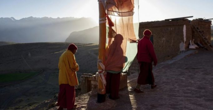 Winter is coming: Himalayan Buddhist monastery prepares to welcome the cold