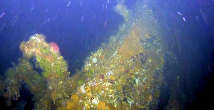 Shipwreck from WWII battle in America found off Alaska