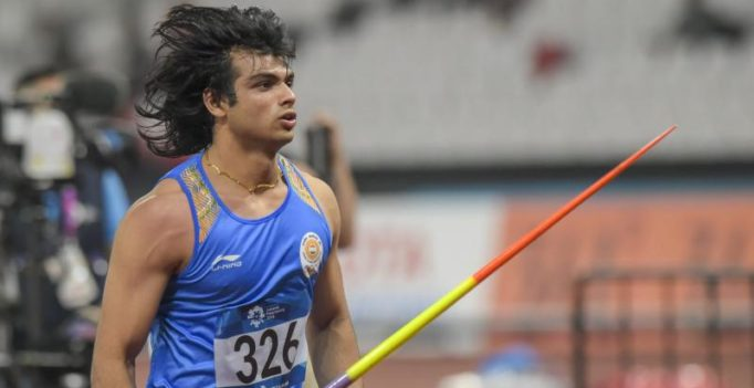 Watch: Neeraj Chopra's throw to break national record before winning Asian Games gold