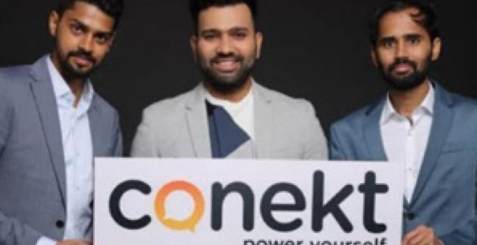 Rohit Sharma debuts Conekt Gadgets in India