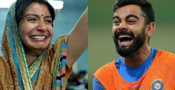 Twitter ups meme game! Anushka Sharma's Sui Dhaaga expression lands on cricket field