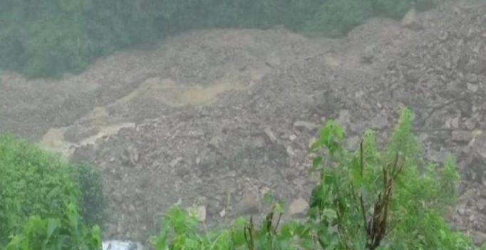 Constant rainfall, landslides create 100 m long, 50 m deep lake in Uttarakhand