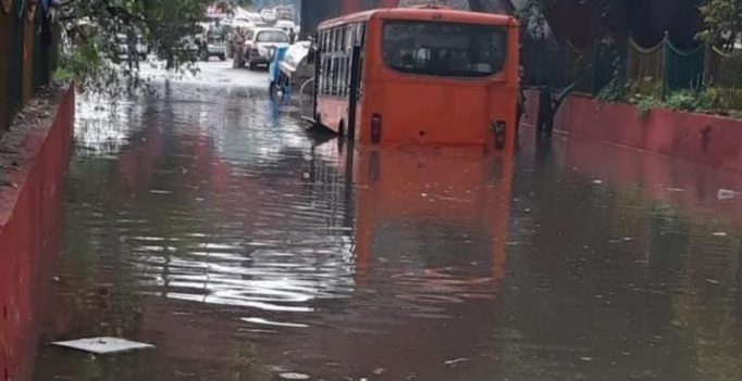 Waterlogging, traffic jams as heavy rain lashes Delhi