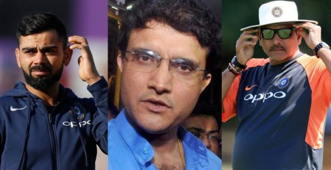Sourav Ganguly vs Ravi Shastri? Dada takes a cheeky dig at India coach, captain Kohli