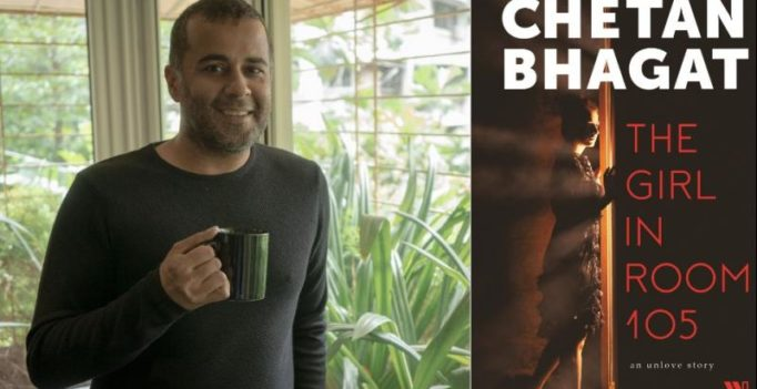 Watch: Chetan Bhagat's movie-style video for his new book, The Girl in Room 105