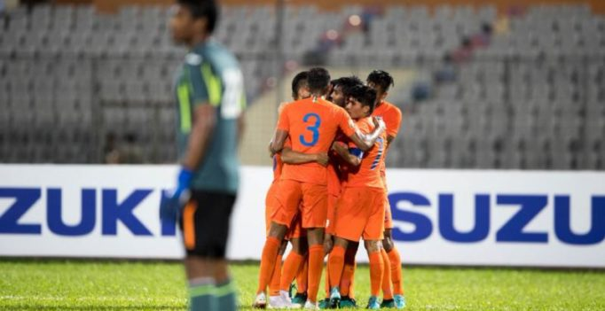 SAFF Cup 2018: Poojary, Manvir lead India past Maldives; face Pakistan in semis