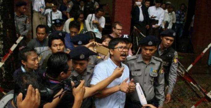 2 Reuters reporters jailed for 7 years in landmark Myanmar secrets case