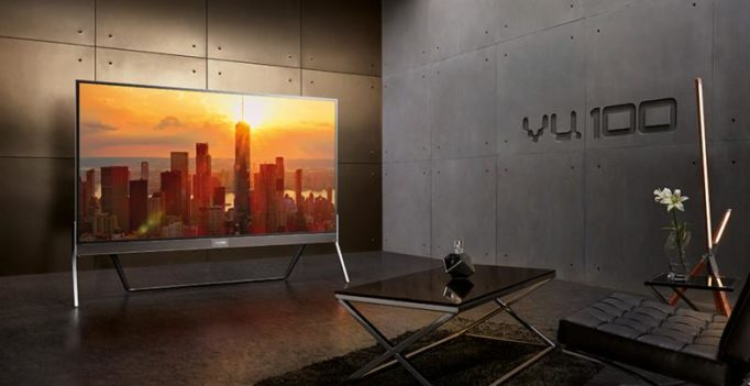 Big deal: Vu launches 100-inch 4K LED Smart TV