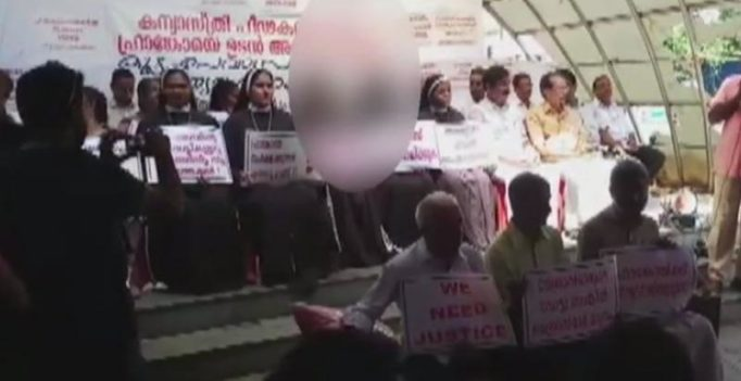 Nuns protest in Cochin over police inaction in Kerala rape case