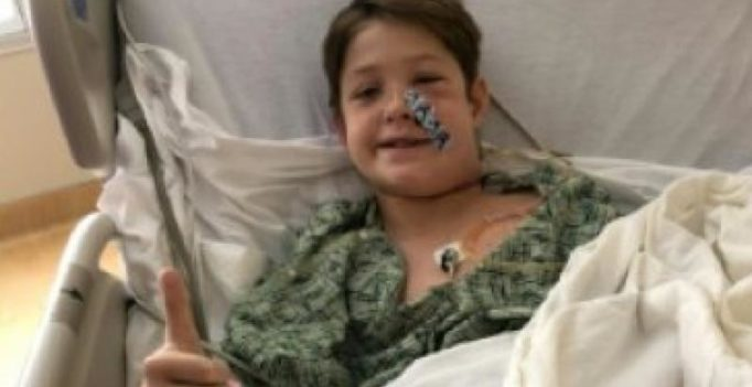 10-year-old miraculously survives after kebab skewer impaled his skull
