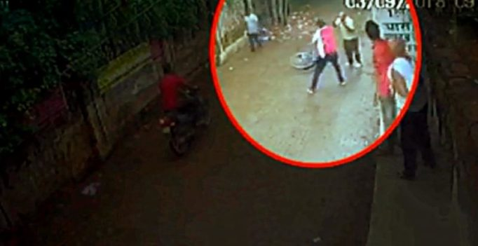 Caught on CCTV: Retired cop beaten to death in Allahabad, locals watched