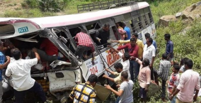 T'gana bus tragedy: Death toll rises to 60; driver awarded best employee last month