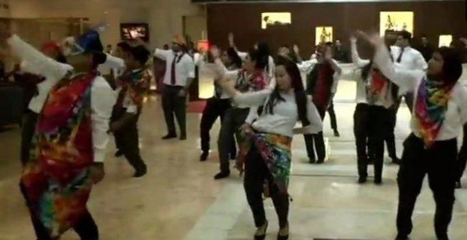 Watch: Delhi hotel staff break into jig after top court legalises gay sex