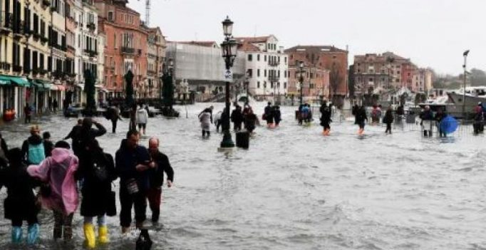 Deadly storms, heavy rains lash Italy leaving Venice afloat