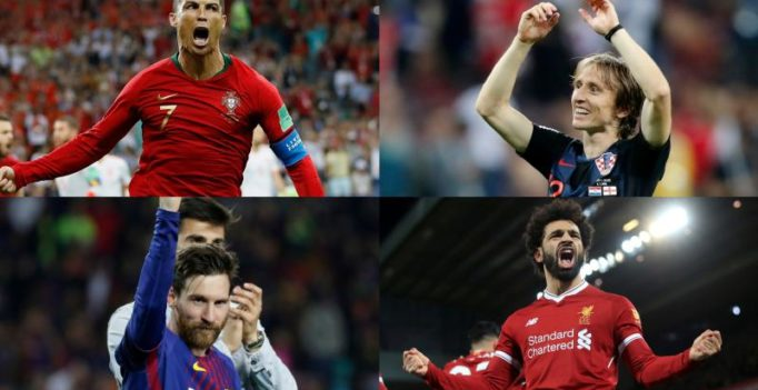 Modric vs Ronaldo rematch as Ballon d'Or nominees unveiled