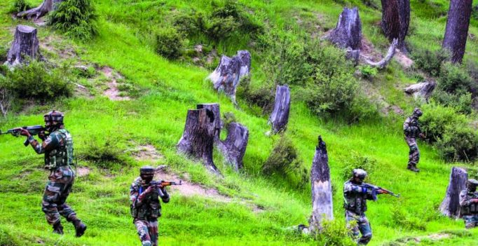 J&K: Two encounters underway between security forces, terrorists in Baramulla