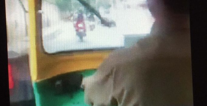 Auto driver's lewd act shocks passenger