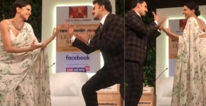 This video of soon-to-be married Deepika-Ranveer dancing on Khalibali is too cute!