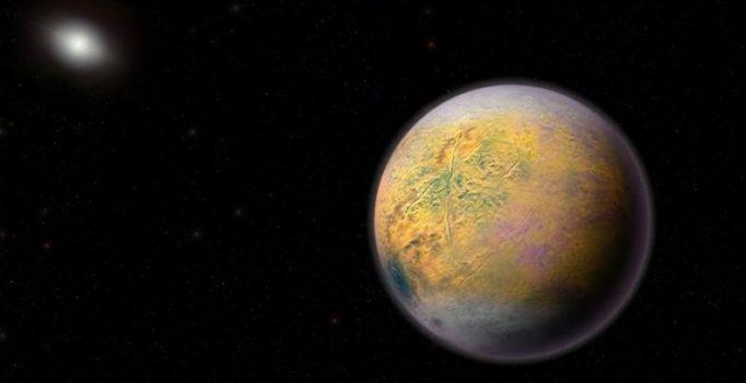 Scrawny dwarf planet, named Goblin, found well beyond Pluto