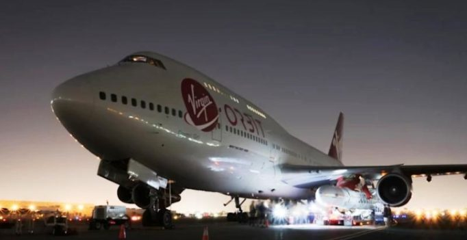 'Cosmic Girl' Boeing 747 will soon launch rockets while airborne