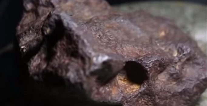 Rock used as door stop for 30 years turns out to be meteorite worth $100,000