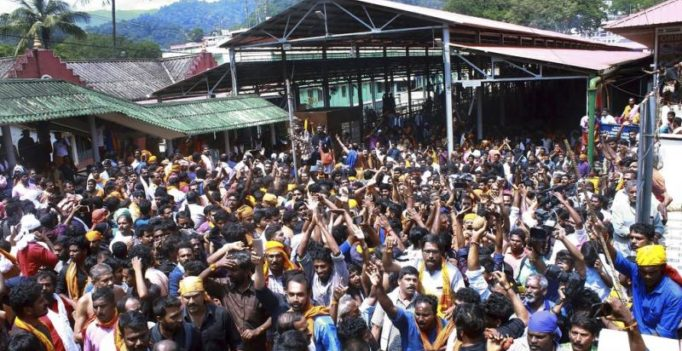 Sabarimala temple closes today, media asked to vacate over attack warnings