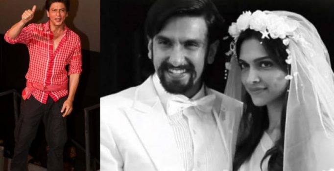 Shah Rukh Khan on DeepVeer wedding: We'll celebrate as and when they call