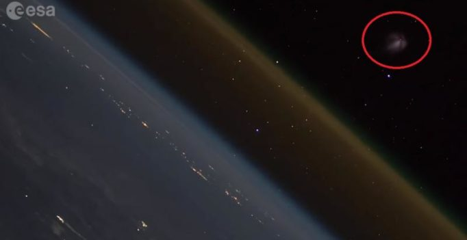 Watch: Cool video of a spacecraft leaving Earth, from ISS