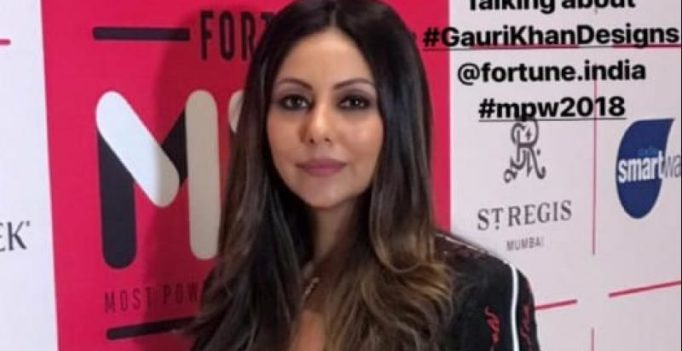 Gauri Khan felicitated at Fortune India's 50 Most Powerful Women in business
