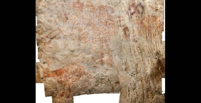 Painted 40,000 years ago, world's earliest cave paintings discovered in Borneo