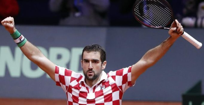 Davis Cup final: Borna Coric, Marin Cilic put Croatia in charge against France