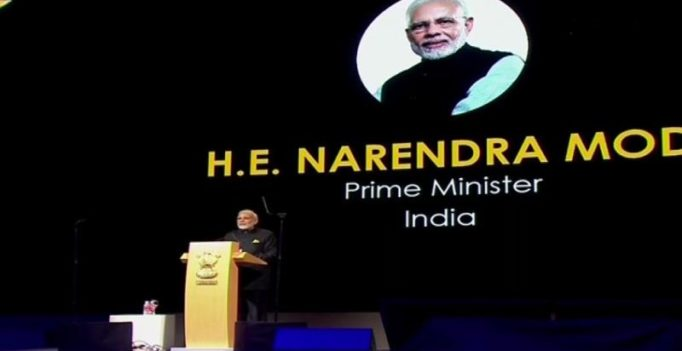 'Financial inclusion a reality for 1.3 billion Indians': PM Modi in Singapore