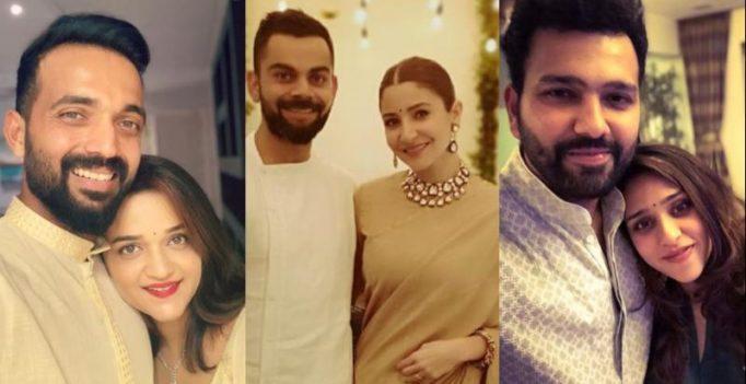 See pics: Virat Kohli, Rohit Sharma, Rahane, Team India players celebrate Diwali