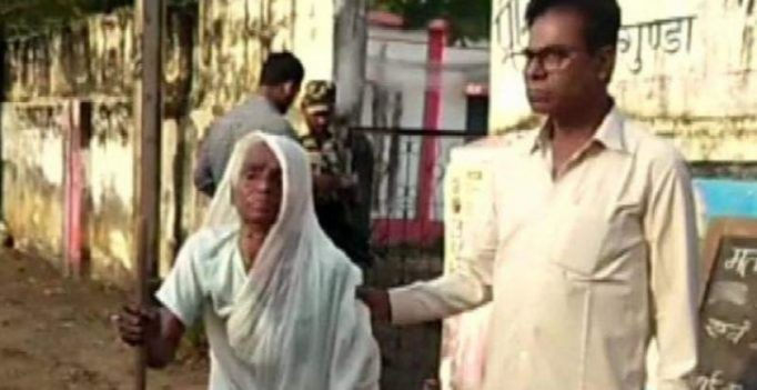 Chhattisgarh polls: 100-year-old woman casts vote in Dornapal district