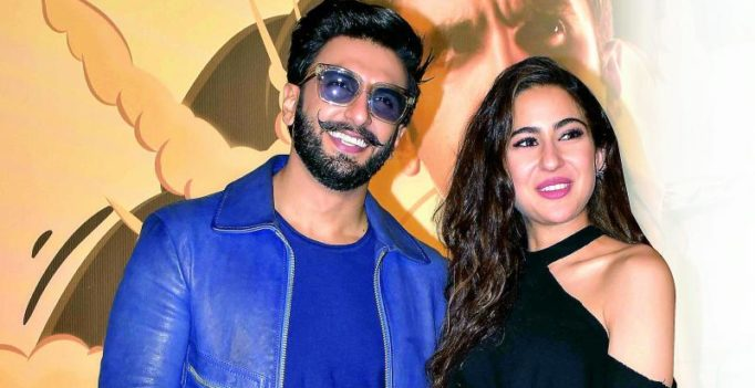Sara Ali Khan can't stop gushing over Ranveer Singh