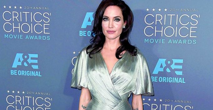 Angelina Jolie talks about sexual violence