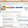 Running The Chromium Browser On Ubuntu 8.04 With CrossOver Chromium