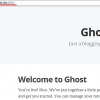 How to Install Ghost Blog Software with Apache and SSL on Ubuntu 15.10
